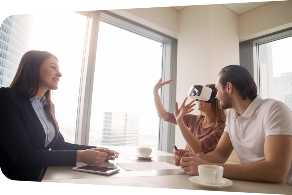 Realizamos un reportaje en realidad virtual y vídeo 3D para que el usuario vea su casa.